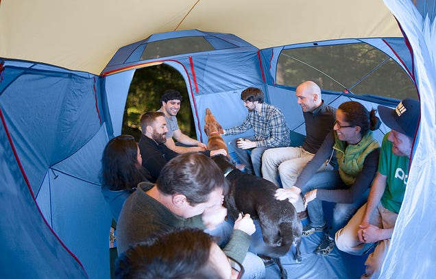 Why Your Next Tent Might Be A Cube