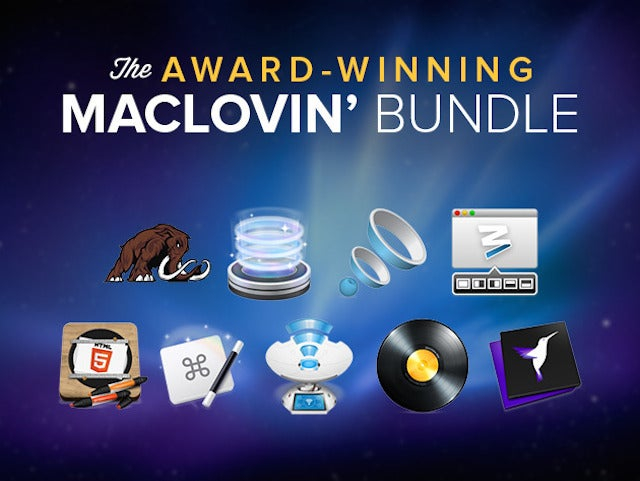 Get 95% Off The Award-Winning MacLovin Bundle