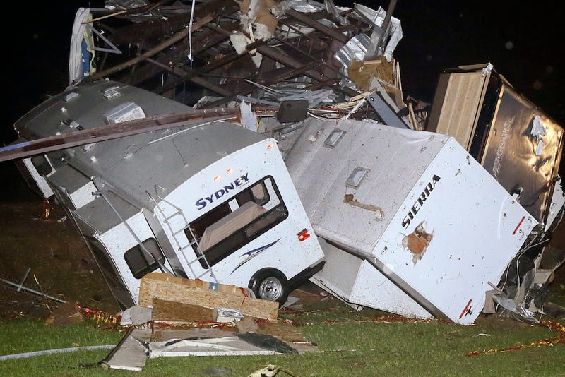 Tornadoes Strike Midwest and Southern U.S., Killing at Least 17
