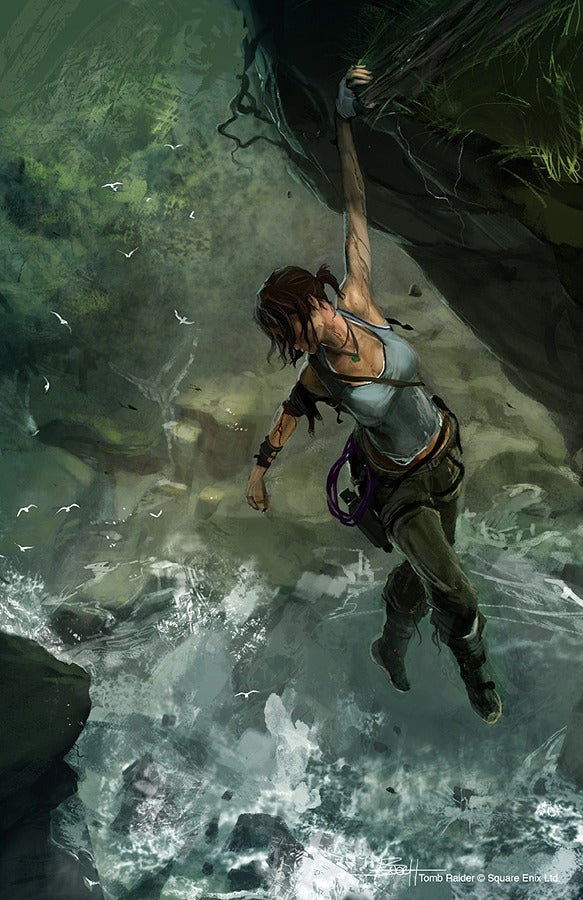 What The New Lara Croft Could Have Looked Like