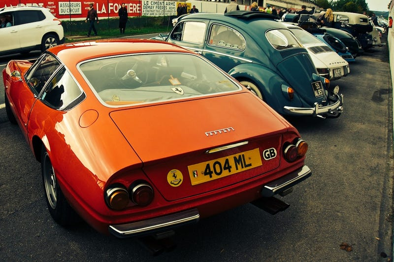 The Ferrari Daytona returns to Reims - the Journées d'Automne 2013