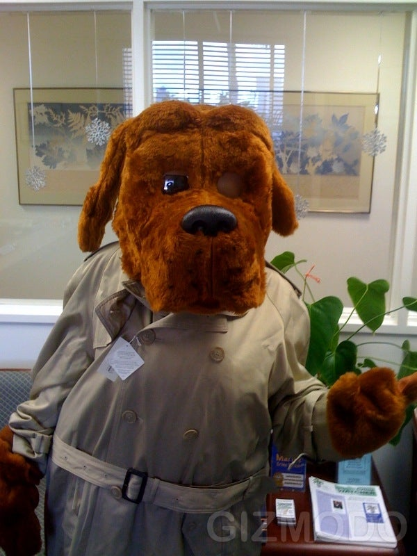 New Robotic McGruff Costume Out-Scares the Analog Original