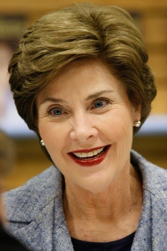 Laura Bush Supports Choice, Gay Rights • Support Hillary, Win A Date With Bill Clinton