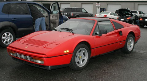 Ferrari 328 GTS Spied in the Magical LeMons Parking Lot