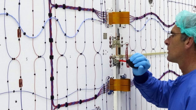 Have You Ever Seen Spacecraft Solar Panels From Behind?