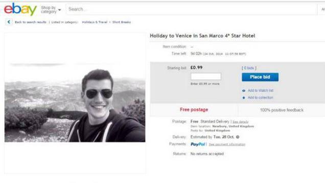 Woman Dumps Man Before Fancy Vacation, Man Seeks Replacement via eBay