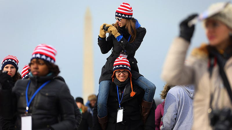 Pomp and Pageantry: Scenes From Today's Inauguration
