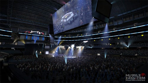 Cowboys Stadium Is A Venue In EA Sports MMA