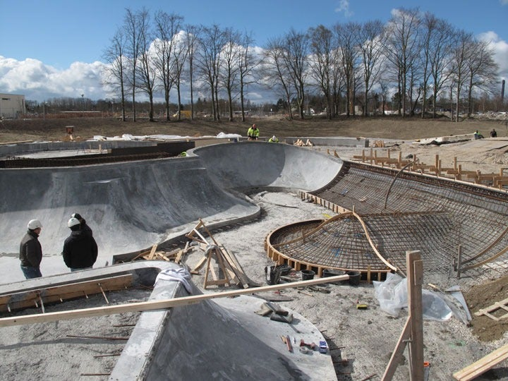 This Submersible Skatepark Is Drainage in Disguise