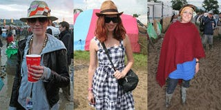 Glastonbury Blows Bonnaroo Out The (Admittedly Muddy) Music Festival Fashion Water