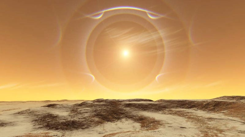 Here's what the weather on Mars would really look like