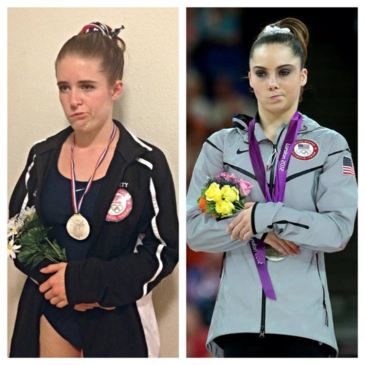 Woman With Bell's Palsy Has Awesome McKayla Maroney Halloween Costume