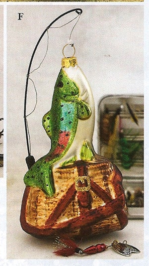9 More Weird Christmas Ornaments From Bronner's