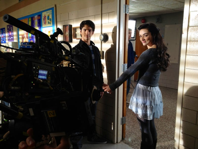 Teen Wolf Season 2 Set Photos and Script Page