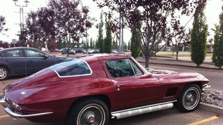 Spotted in Edmonton: Corvette C2 Stingray