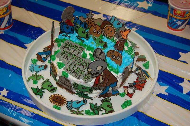 Plants Vs. Zombies Vs. Cake