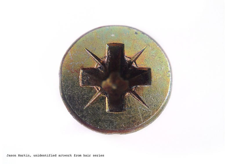 Ogle These Screws Used To Hang Famous Works Of Art