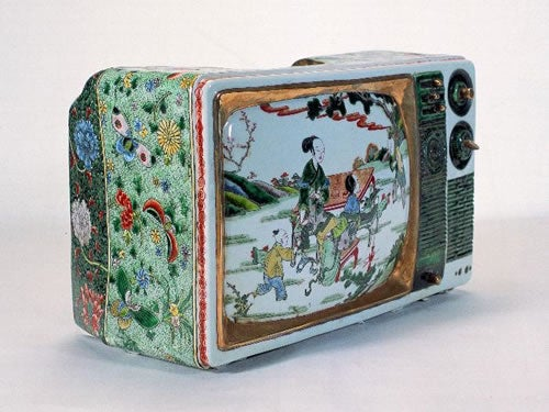 Ceramic TV is more High Art than High Definition