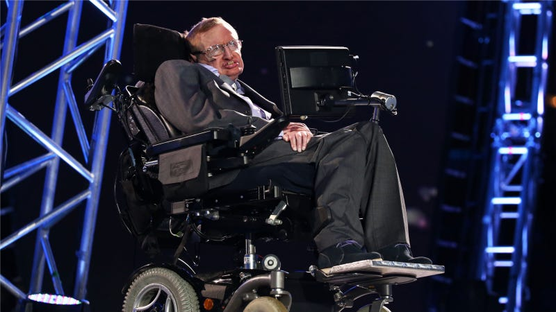 Intel's Trying To Help Stephen Hawking Get His Speech Back Up to Speed