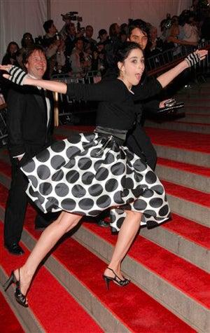 """Anna Wintour's """"Curious"""" Dress At The Big Ball"""
