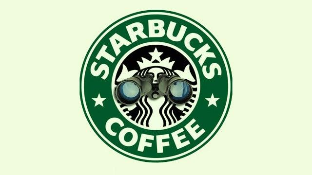 Starbucks Has a Peeping Tom Problem