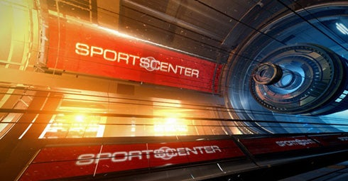 Sports Center Has A New Look. Wheee!