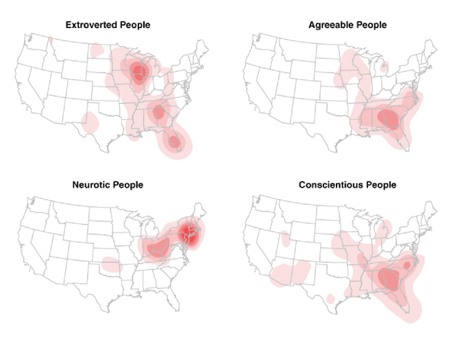 Map Proves New York is Nexis of Neurosis