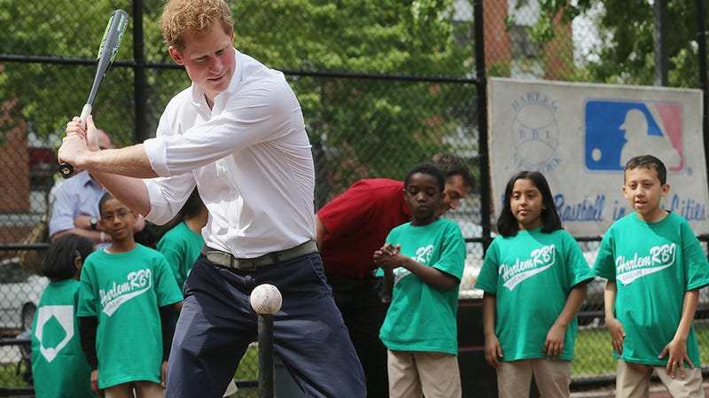 Just Look at Prince Harry Swinging in Harlem