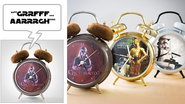 Nothing Will Get You Out Of Bed Quicker Than a Roaring Wookiee Alarm Clock