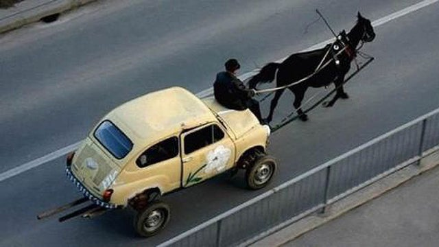 The one-horsepower Fiat