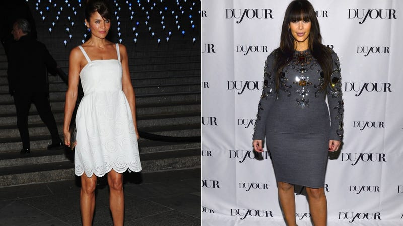 Helena Christensen Writes Rant in Defense of Pregnant Kim Kardashian