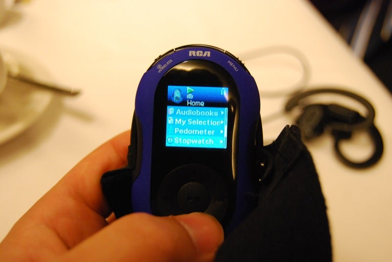 First Hands-On With the RCA Jet Stream MP3 Player with Kleer Wireless Headphones