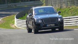 Bentley Bentayga Looks Like A Runaway Farm Animal On TheNürburgring