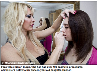 "Human Barbie Injects Daughter With Botox • Gov. Paterson Hoped To ""Downplay"" Domestic Violence"