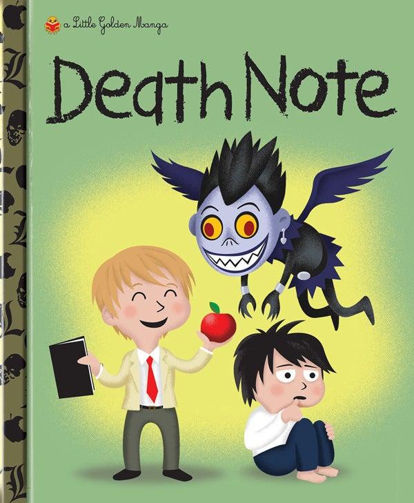 Little Golden Books Go Manga: Art by Matt Reedy