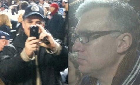 Why Keith Olbermann Didn't Literally Kill Sean Hannity at This Baseball Game
