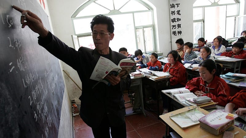 Being a Teacher in China Sounds a Little Like Being in the Mafia