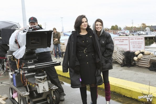 Once Upon a Time Episode 2.10 Behind the Scenes Photos