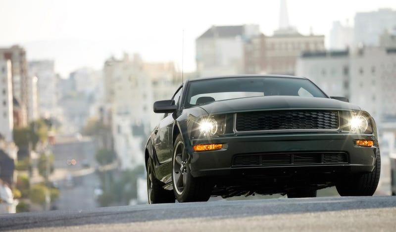 Steve McQueen Would Drive A Mustang Bullitt
