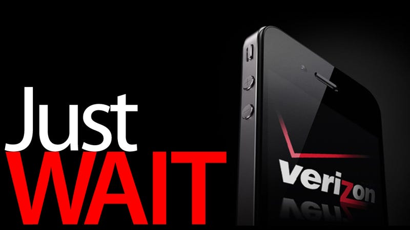 Verizon iPhone 4 Non-Review: No Really, Just Wait.