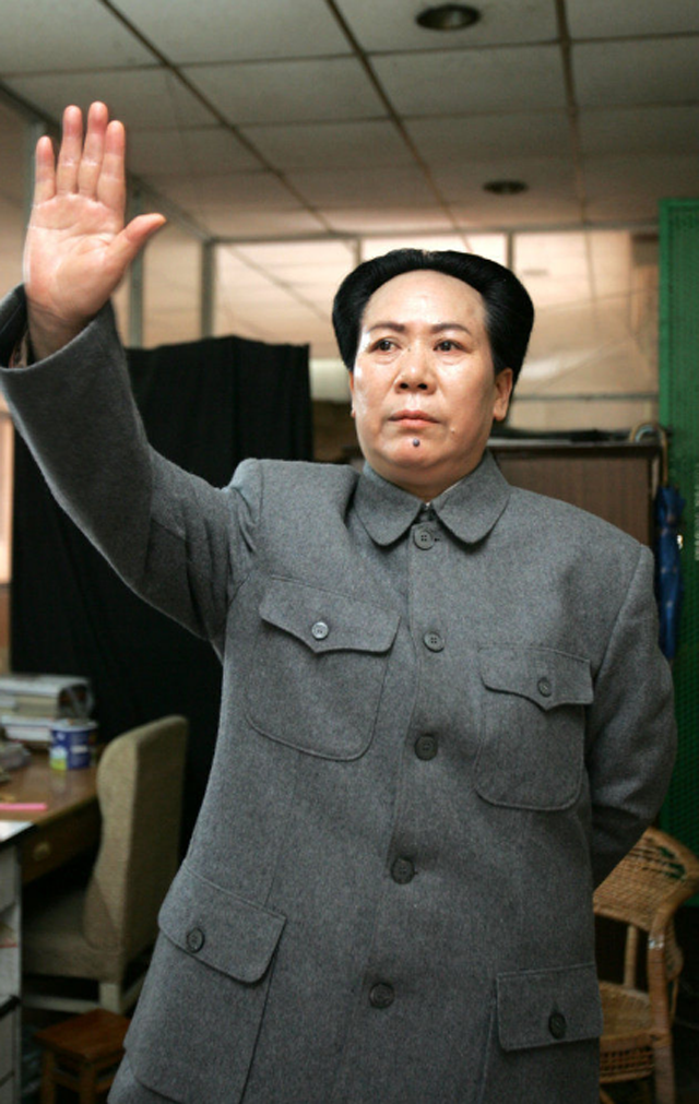Chinese Housewife's Mao Zedong Cosplay Will Blow Your Mind