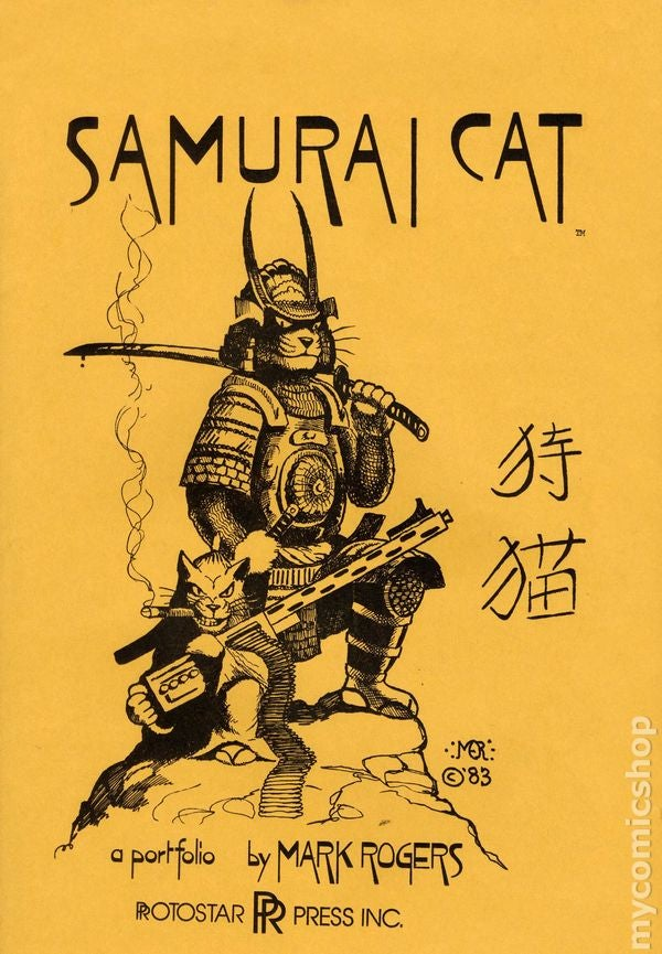 RIP Mark Rogers, Creator of Samurai Cat