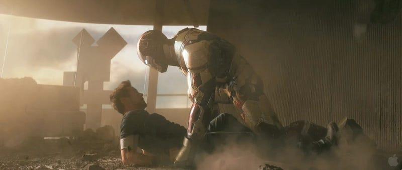 Iron Man 3 trailer screencaps reveal Tony Stark's worst nightmares. Plural.