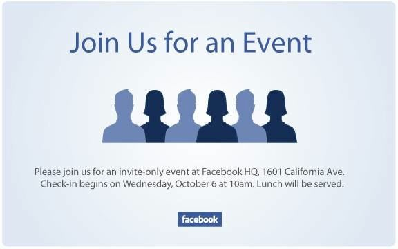 What Will Be Announced at Facebook's Event This Wednesday?