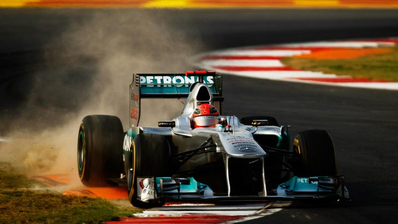 Pictures from the 2011 Indian Grand Prix