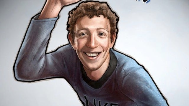 Mark Zuckerberg Is the Hero in His Own Comic Book