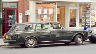 So I Saw A Rolls Royce Silver Shadow Shooting Brake Today