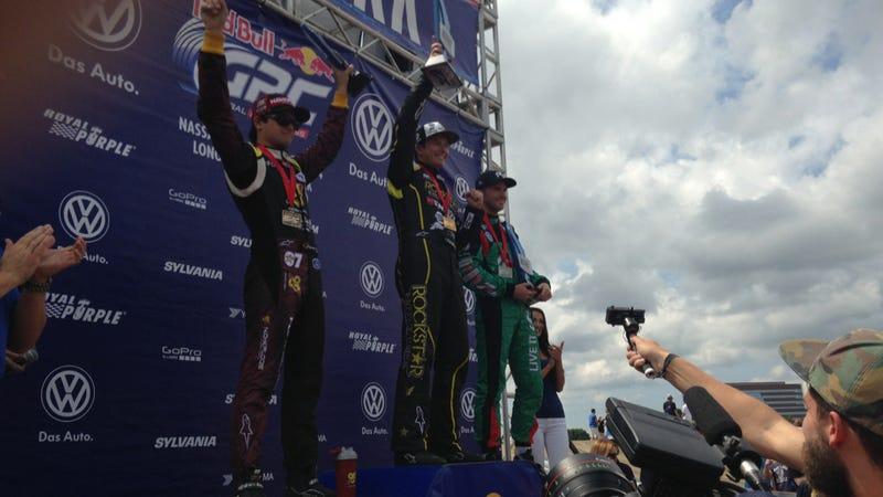 The Jalopnik Bump Sent Three Racers To The Podium At GRC New York