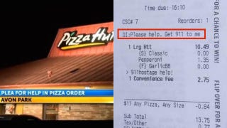 'Get 911 to Me': Woman Held Hostage Uses Pizza Hut App to Summon Help