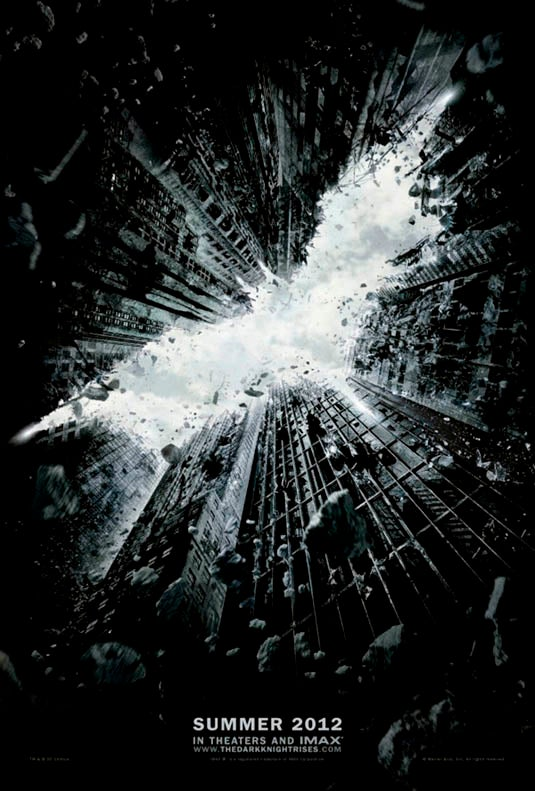 An aesthetic analysis of The Dark Knight Rises movie poster